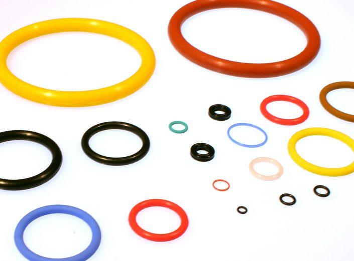 Gummi Blatt O-Ring EPDM, NBR, SIlikon, HNBR, FKM, ACM, HNBR, FFKM