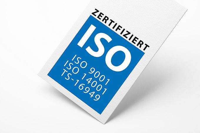 ISO 9001, ISO 14001, TS 16949