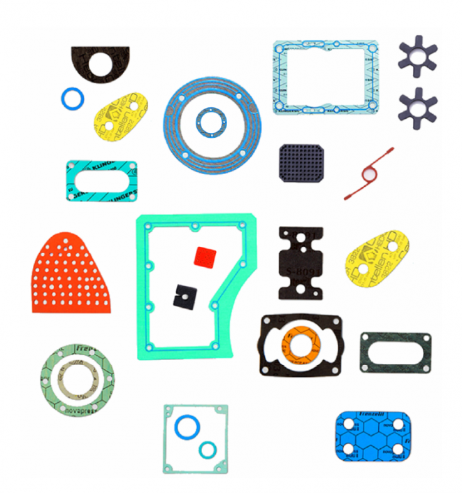 Gummi Blatt Stanzdichtungen in allen verfügbaren Materialien