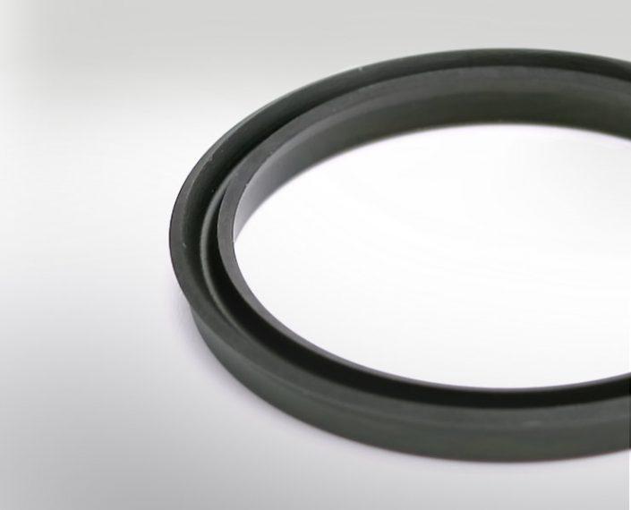 Gummi Blatt Nutringe für Sanitär und Automotive