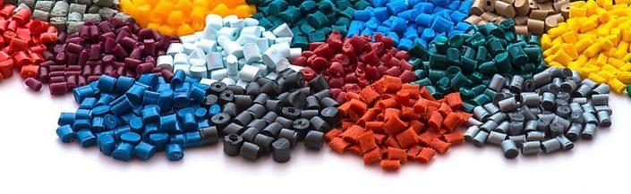 Gummi Blatt Kunststoffgranulat